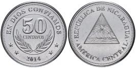 50 сентаво 2014 Никарагуа UNC