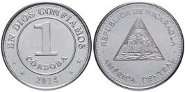 1 кордоба 2014 Никарагуа UNC