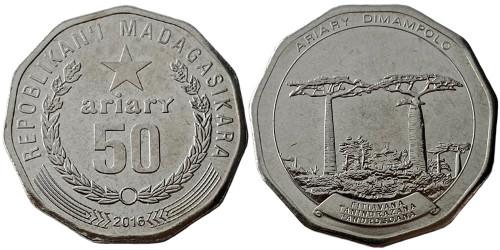 50 ариари 2016 Мадагаскар UNC