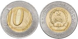 10 кванз 2012 Ангола UNC