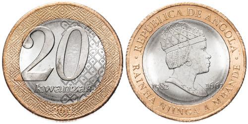 20 кванз 2014 Ангола UNC