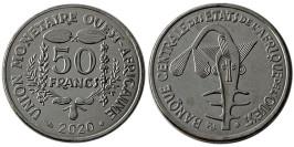 50 франков 2020 Западная Африка UNC