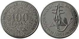 100 франков 2020 Западная Африка UNC
