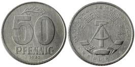 50 пфеннигов 1982 «А» ГДР UNC