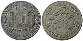 100 франков 1967 Камерун