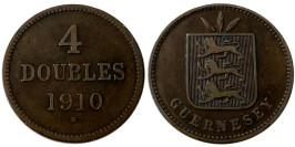 4 дубля 1910 остров Гернси