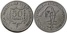 50 франков 2019 Западная Африка UNC