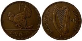 1 пенни 1931 Ирландия