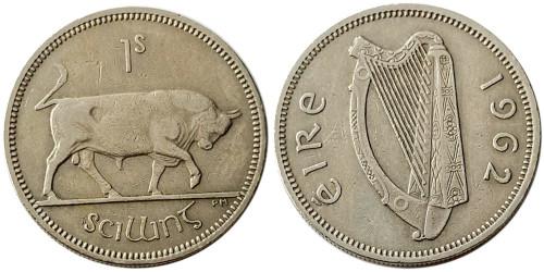 1 шиллинг 1962 Ирландия