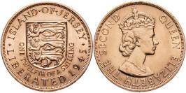 1/12 шиллинга 1945 остров Джерси — Освобождение (Королева Елизавета II)
