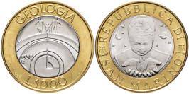 1000 лир 1998 Сан-Марино