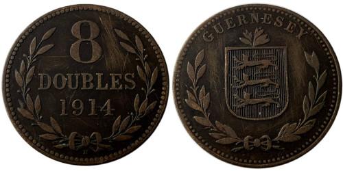 8 дублей 1914 остров Гернси