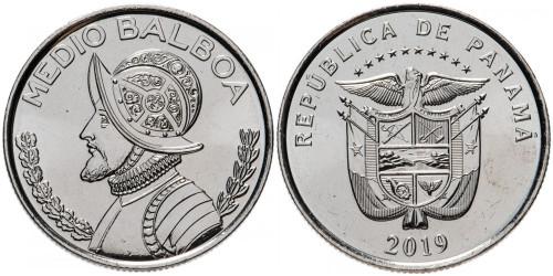 1/2 бальбоа 2019 Панама UNC