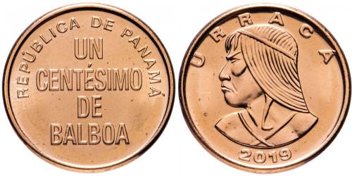 1 сентесимо 2019 Панама UNC