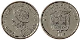 1/10 бальбоа 2017 Панама UNC