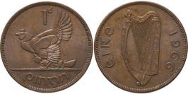 1 пенни 1966 Ирландия