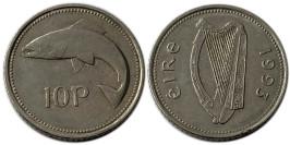10 пенсов 1993 Ирландия