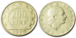 200 лир 1979 Италия