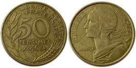 50 сантимов 1963 Франция