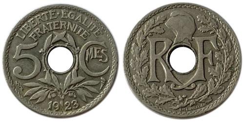 5 сантимов 1923 Франция