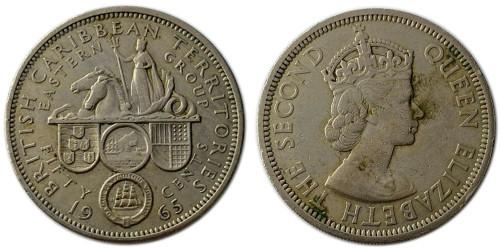 50 центов 1965 Восточные Карибы