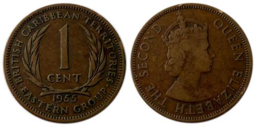 1 цент 1955 Восточные Карибы