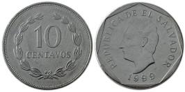 10 сентаво 1999 Сальвадор