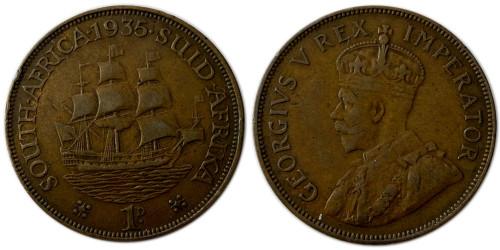 1 пенни 1935 ЮАР