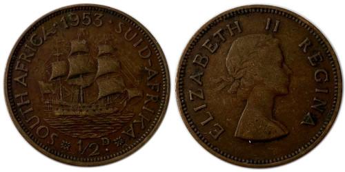 1/2 пенни 1953 ЮАР