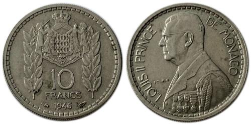 10 франков 1946 Монако