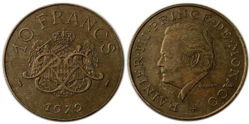10 франков 1979 Монако
