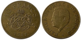 10 франков 1981 Монако