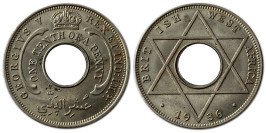1/10 пенни 1936 Британская Западная Африка