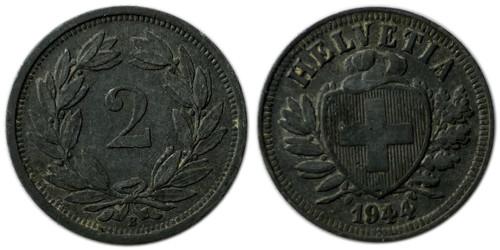 2 раппен 1944 Швейцария