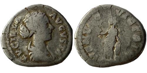 Денарий — Луцилла (Венера) — серебро