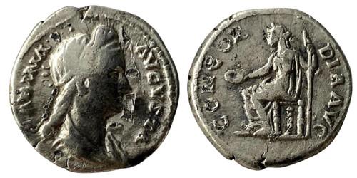 Денарий — Сабина (Конкордия) — серебро
