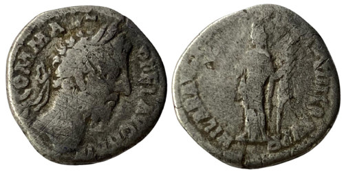 Денарий — Коммод (Хилеритас) — серебро