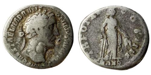 Денарий 138 — 161 г. н.е. — Антонин Пий (Транквилитас) — серебро