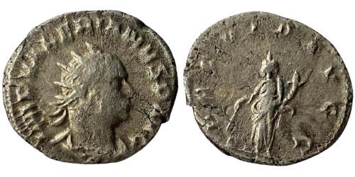 Антониниан 253 — 260 г. н.е. — Валериан I — серебро