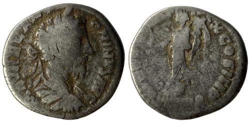 Денарий 161 — 181 г. н.е. — Марк Аврелий (Виктория) — серебро
