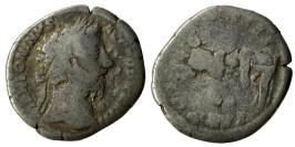 Денарий 161 — 181 г. н.е. — Марк Аврелий (Пленник) — серебро