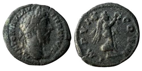 Лимесный денарий 161 — 181 г. н.е. — Марк Аврелий (Виктория)