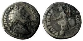 Лимесный денарий 161 — 181 г. н.е. — Марк Аврелий (Рома)