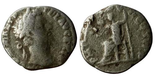 Лимесный денарий 161 — 192 г. н.е. — Коммод (Юпитер)