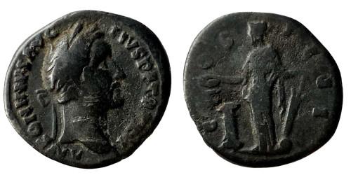Лимесный денарий 138 — 161 г. н.е. — Антонин Пий (Фортуна)