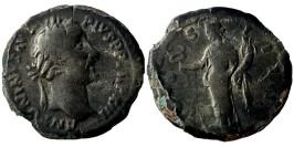 Лимесный денарий 138 — 161 г. н.е. — Антонин Пий (Фелиситас)
