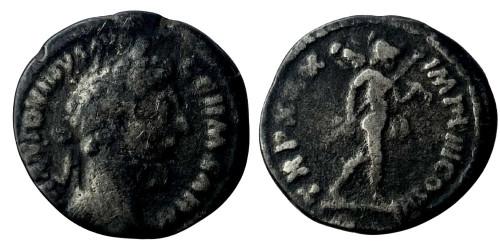 Лимесный денарий 161 — 181 г. н.е. — Марк Аврелий (Марс)