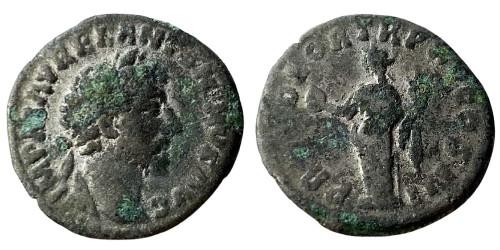 Лимесный денарий 161 — 181 г. н.е. — Марк Аврелий (Провиденция)