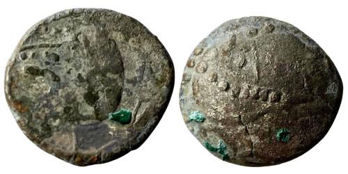 Кельтское подражание тетрадрахме Филиппа II Македонского 3-4 век. до н.э. №6