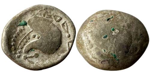 Кельтское подражание тетрадрахме Филиппа II Македонского 3-4 век. до н.э. №7